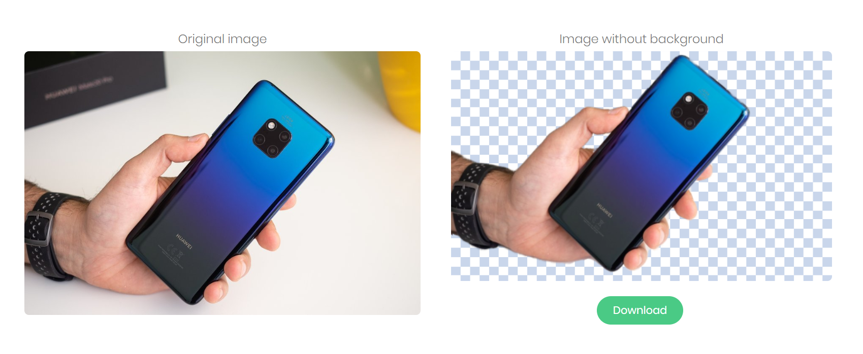 Công cụ online này sử dụng AI để tách nền ra khỏi hình ảnh