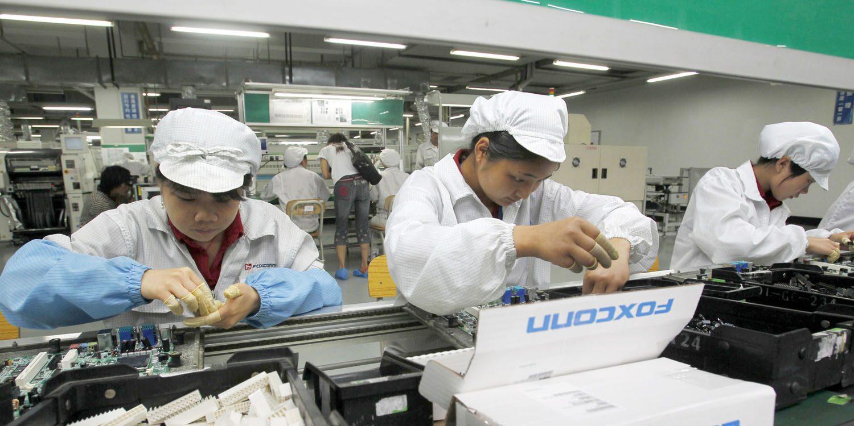 nhà máy sản xuất iPhone tại Việt Nam