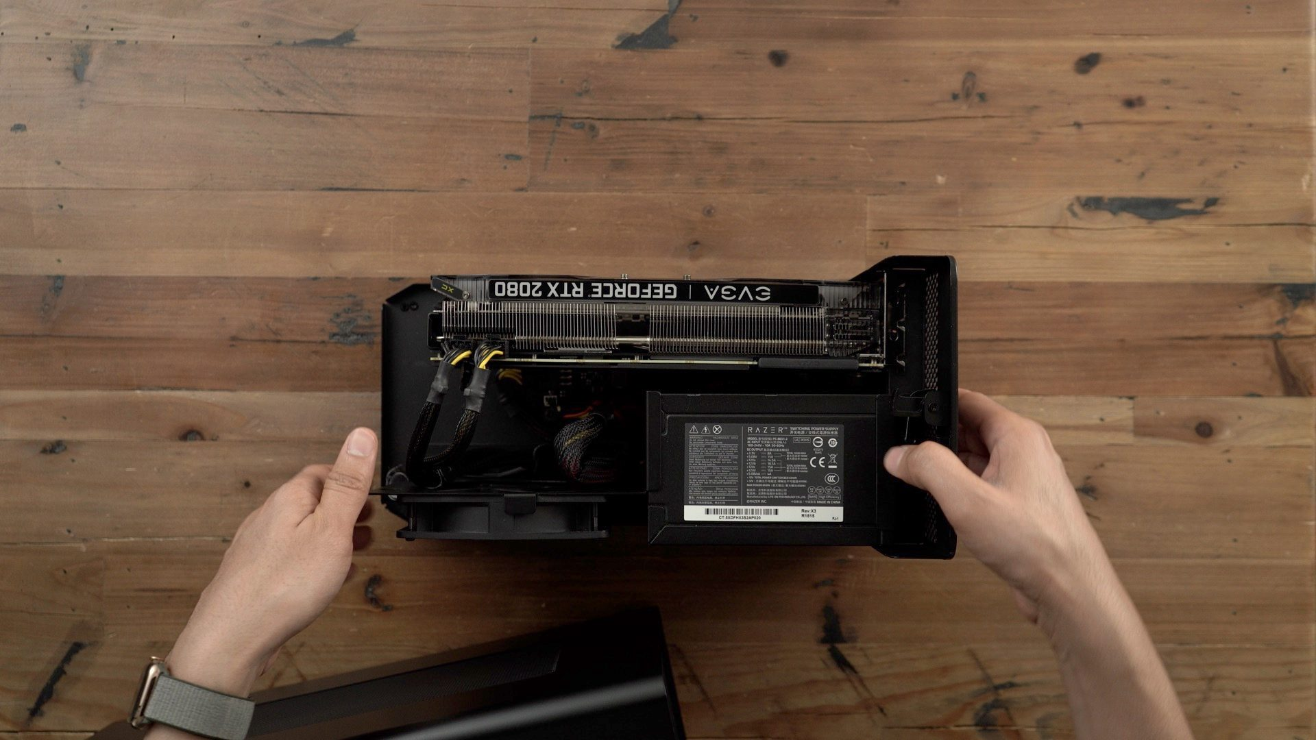kết nối RTX 2080 với Mac mini 2018