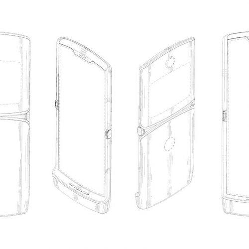 Motorola hồi sinh điện thoại RAZR với màn hình cảm ứng có thể gập