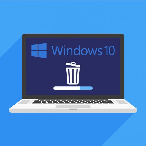 gỡ bỏ cập nhật windows 10