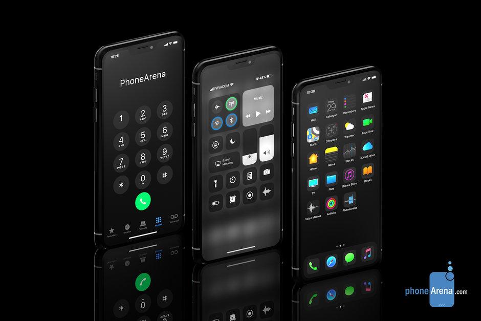 dark mode trên iPhone