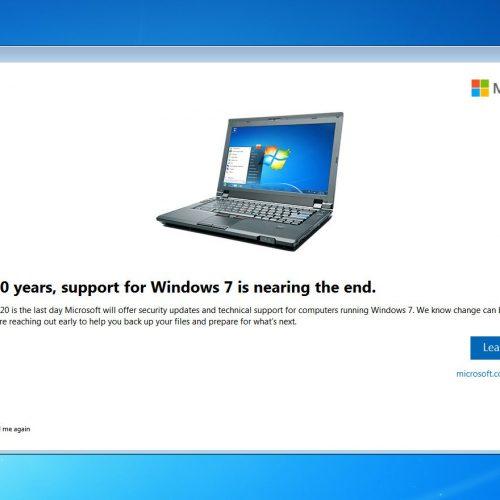 microsoft khai tử windows 7