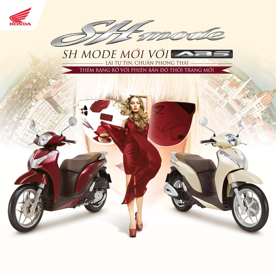 Honda Ra Mắt Màu đỏ Mới Cho Xe Sh Mode 125 Giá Hơn 50 Triệu