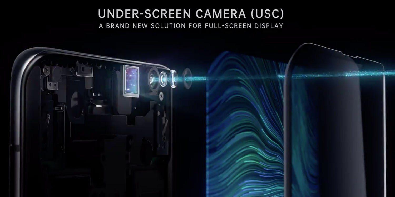 camera bên trong màn hình