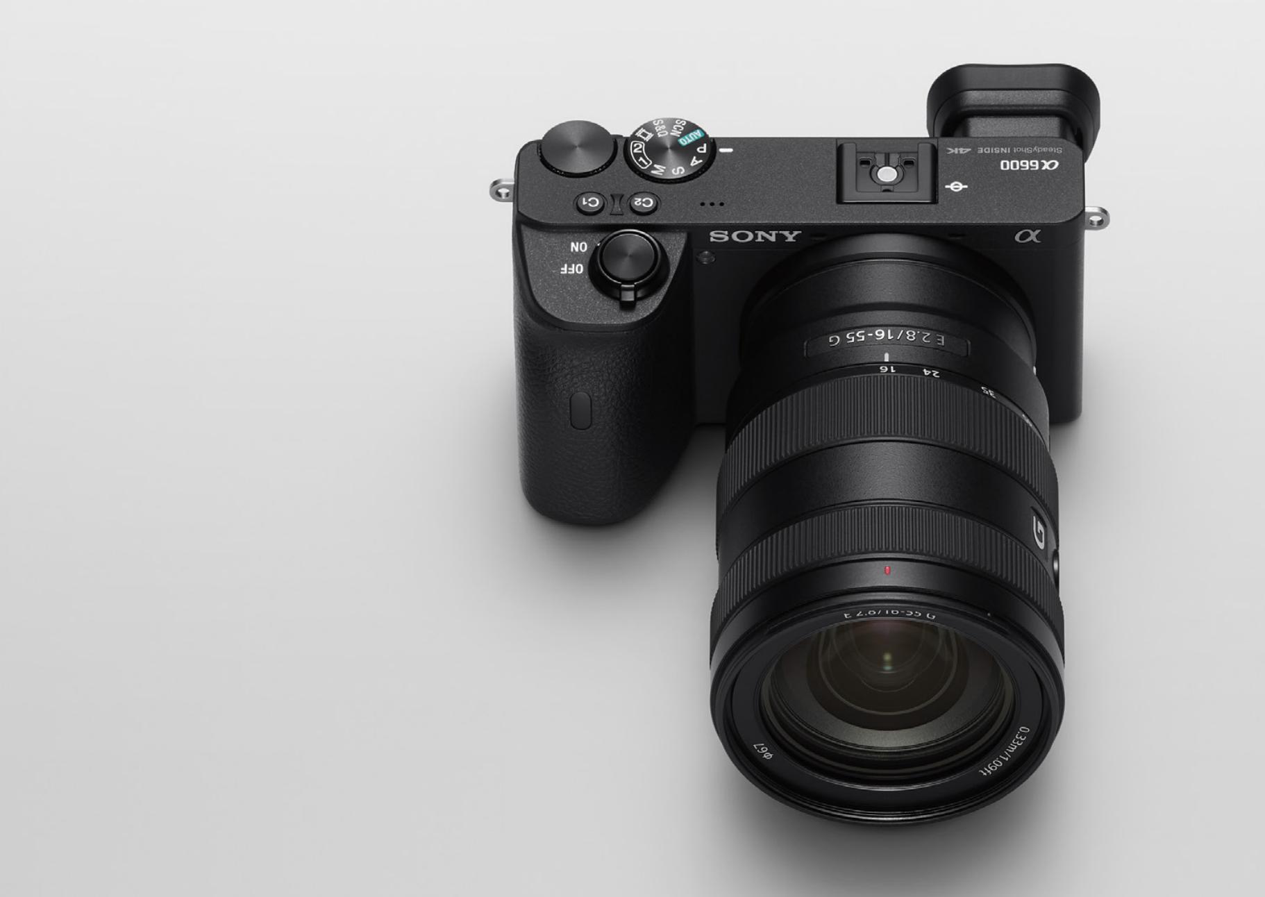 """Sony ra mắt bộ đôi máy ảnh A6100 và A6600, một là phiên bản rút gọn và một là """"flagship"""" trong phân khúc cảm biến APS-C"""