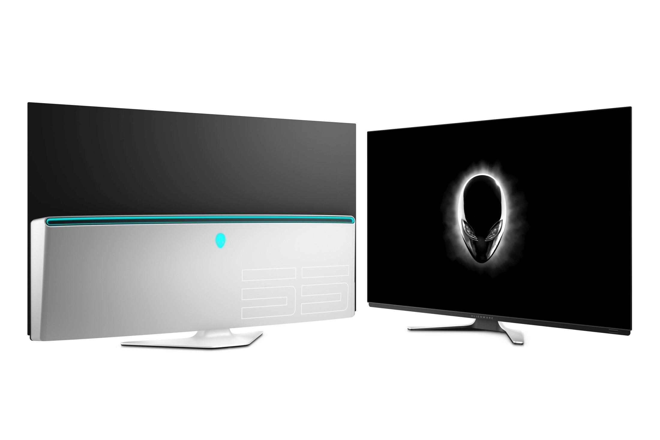 Màn hình Alienware 55 OLED Gaming