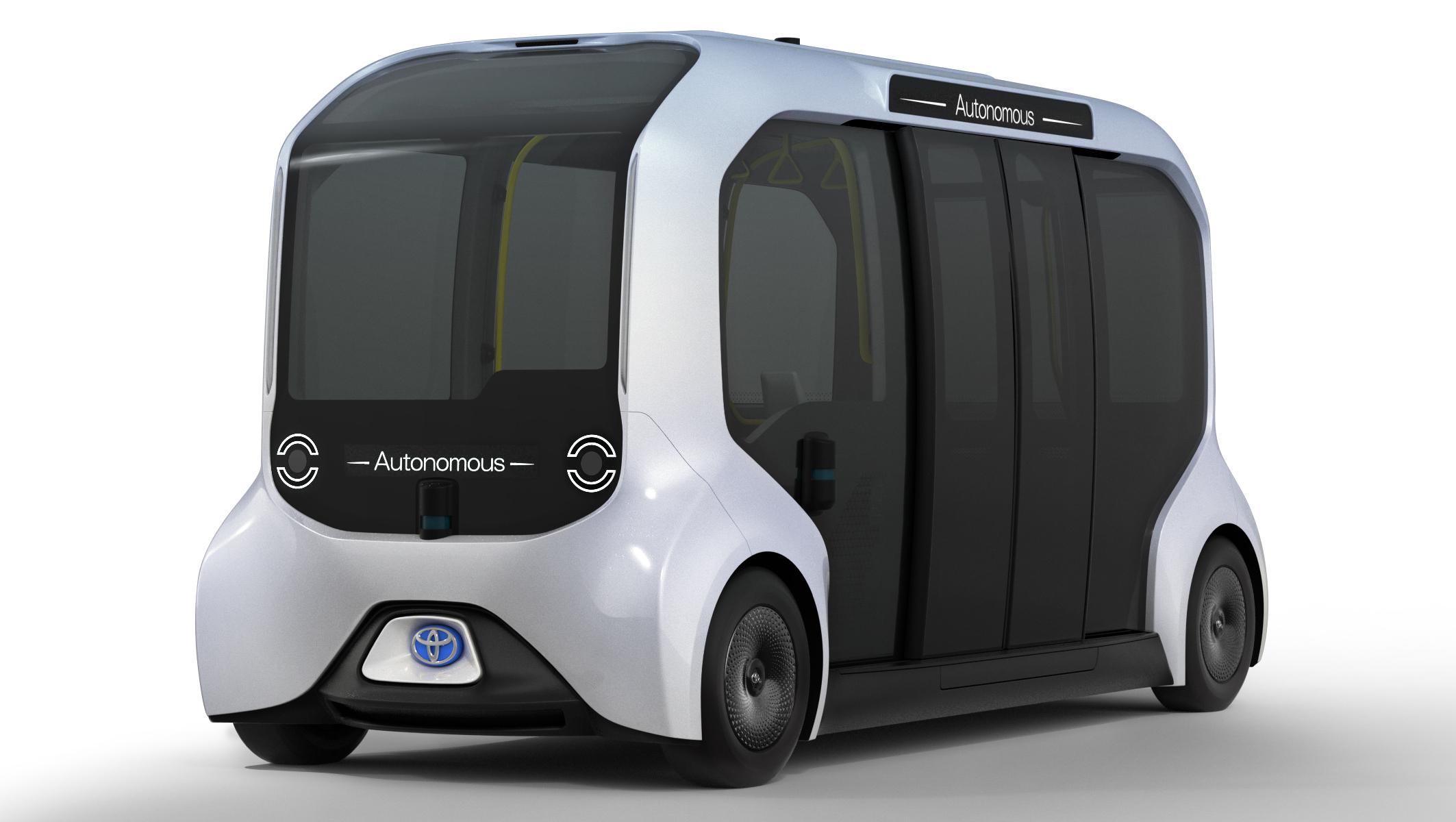Toyota ra mắt mẩu xe điện mới tại Olympic 2020