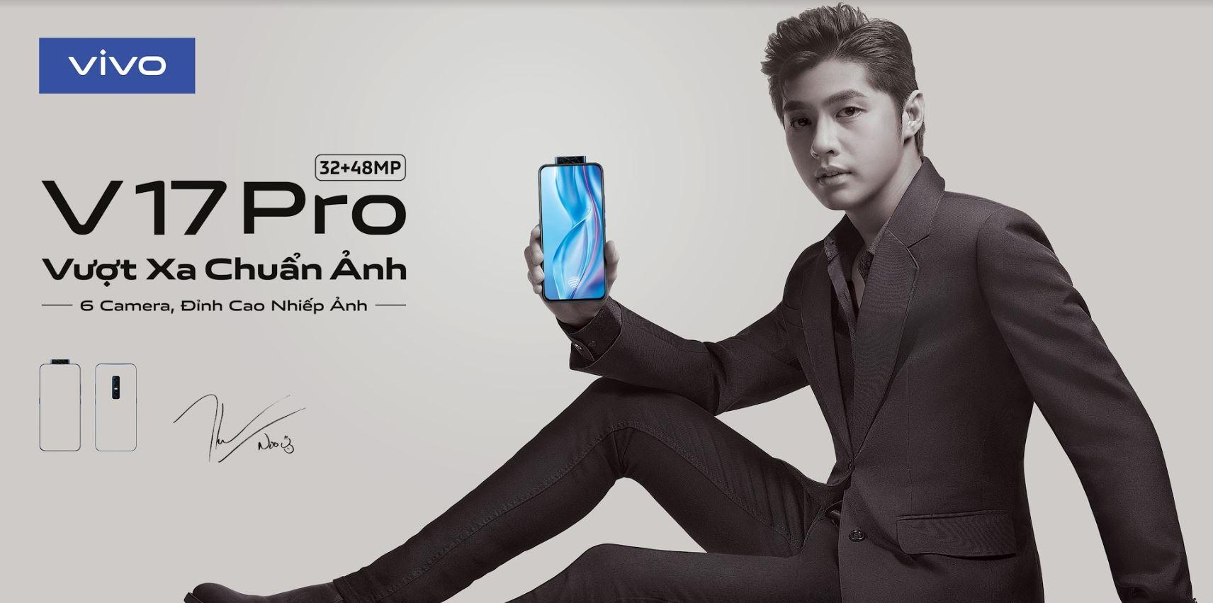 Vivo sẽ ra mắt sản phẩm vivo V17 Pro vào 04/10, Noo Phước Thịnh trở thành đại sứ thương hiệu
