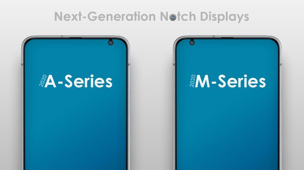 thiết kế tai thỏ trên smartphone của Samsung