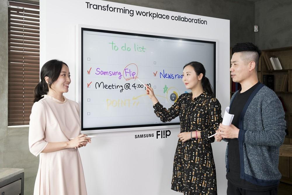 Samsung ra mắt bảng tương tác Flip 2 tại Việt Nam: Kết nối đa dạng hơn, kích thước lớn và nhiều tính năng