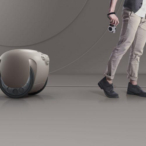 robot chở hàng gita