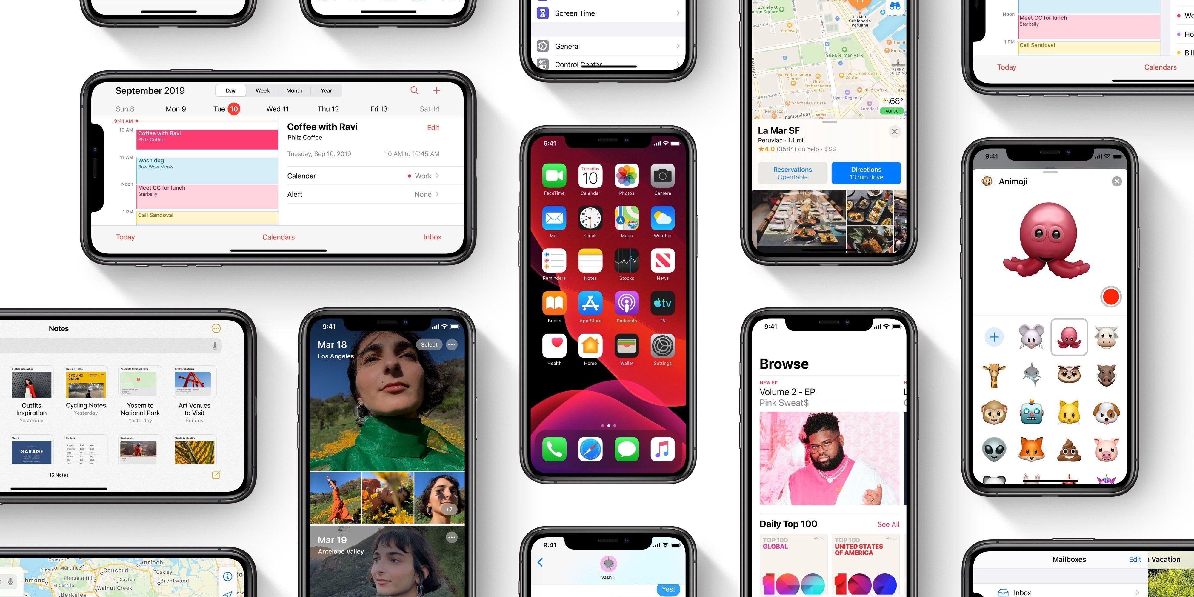 50% iPhone trên thị trường đang sử dụng iOS 13, 33% đối với iPadOS