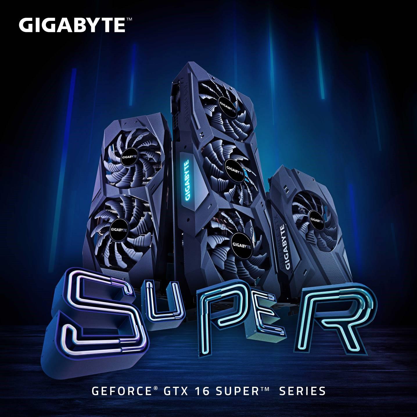 GIGABYTE giới thiệu dòng Card đồ họa GeForce GTX 16 SUPER