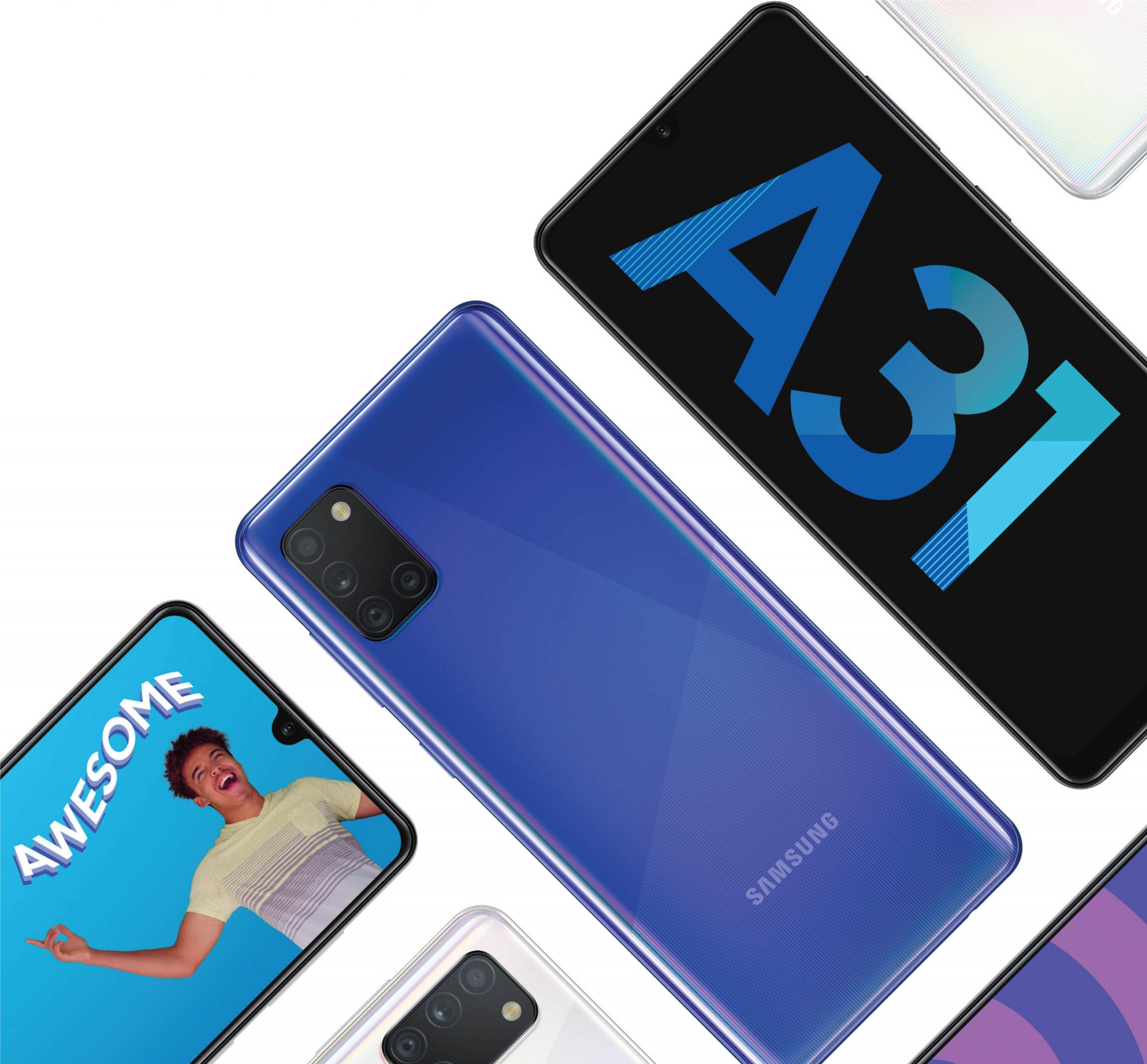 Samsung ra mắt Galaxy A31 tại Việt Nam: Tích hợp camera Macro và dung lượng pin lớn nhất dòng Galaxy A