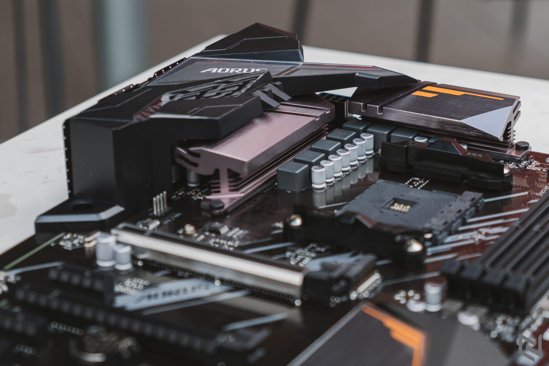 On hand Gigabyte A520 AORUS Elite motherboard: Supports AMD Ryzen 3, meeting all office needs of users