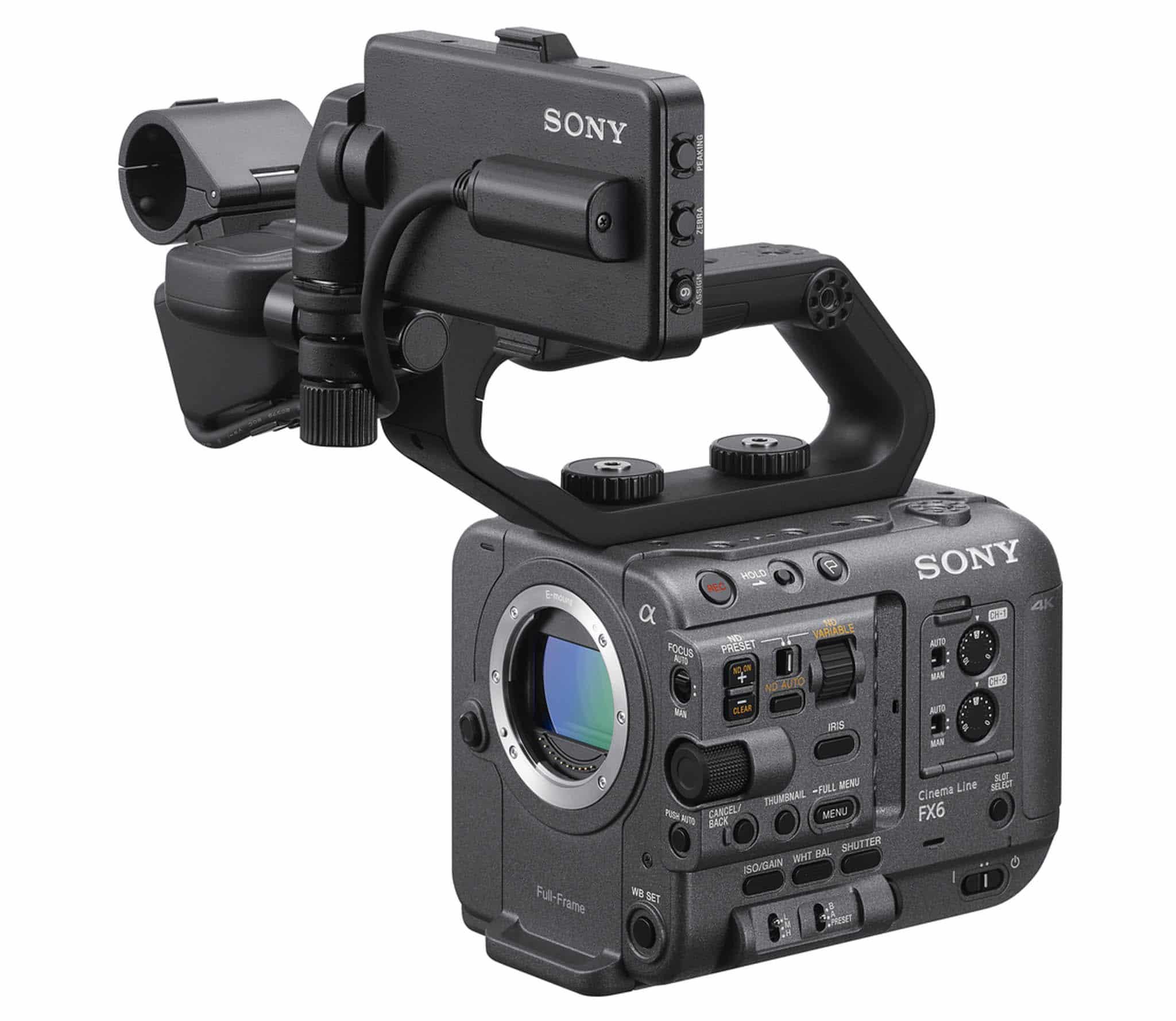 Sony ra mắt FX6 – Camera gọn nhẹ với cảm biến Full-Frame cho trải nghiệm điện ảnh ấn tượng
