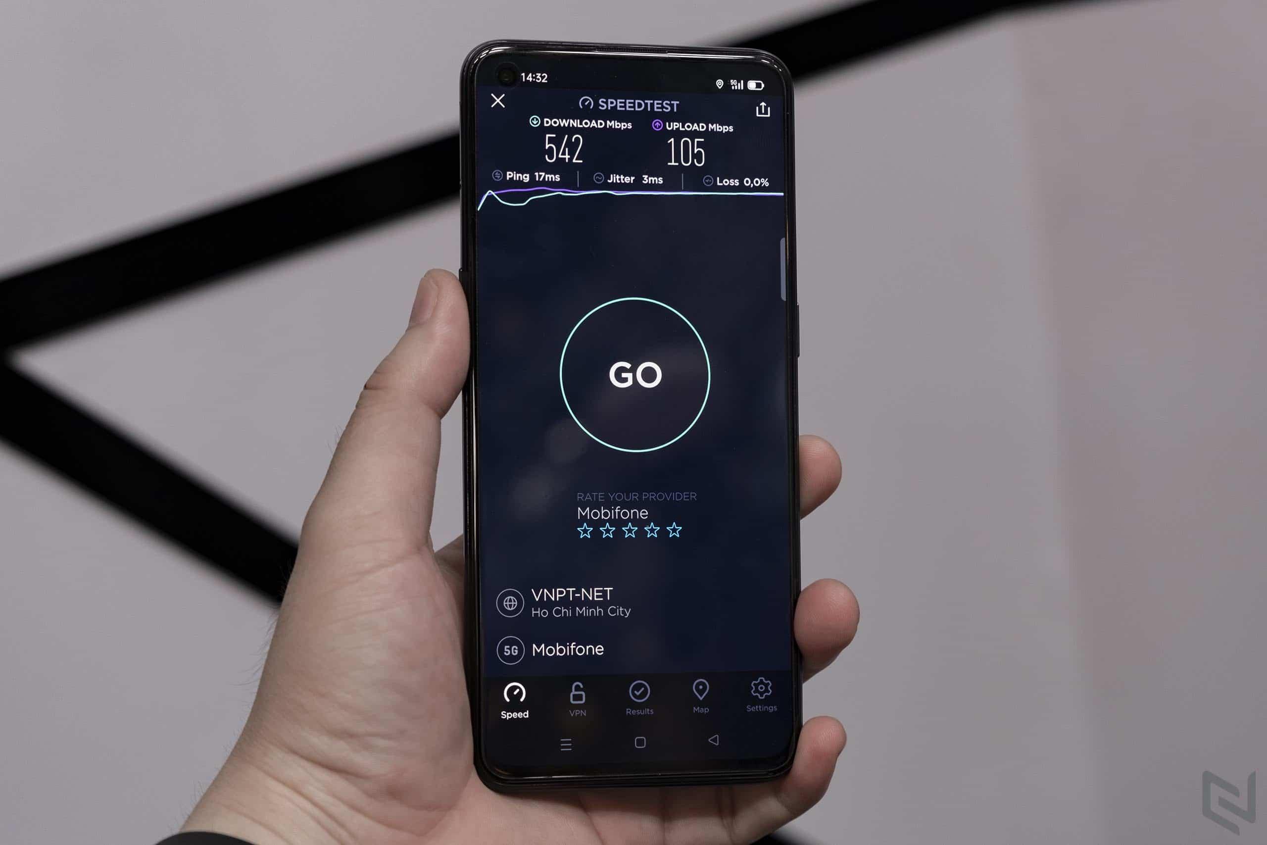 Trên tay và trải nghiệm tốc độ 5G ấn tượng của OPPO Reno55G