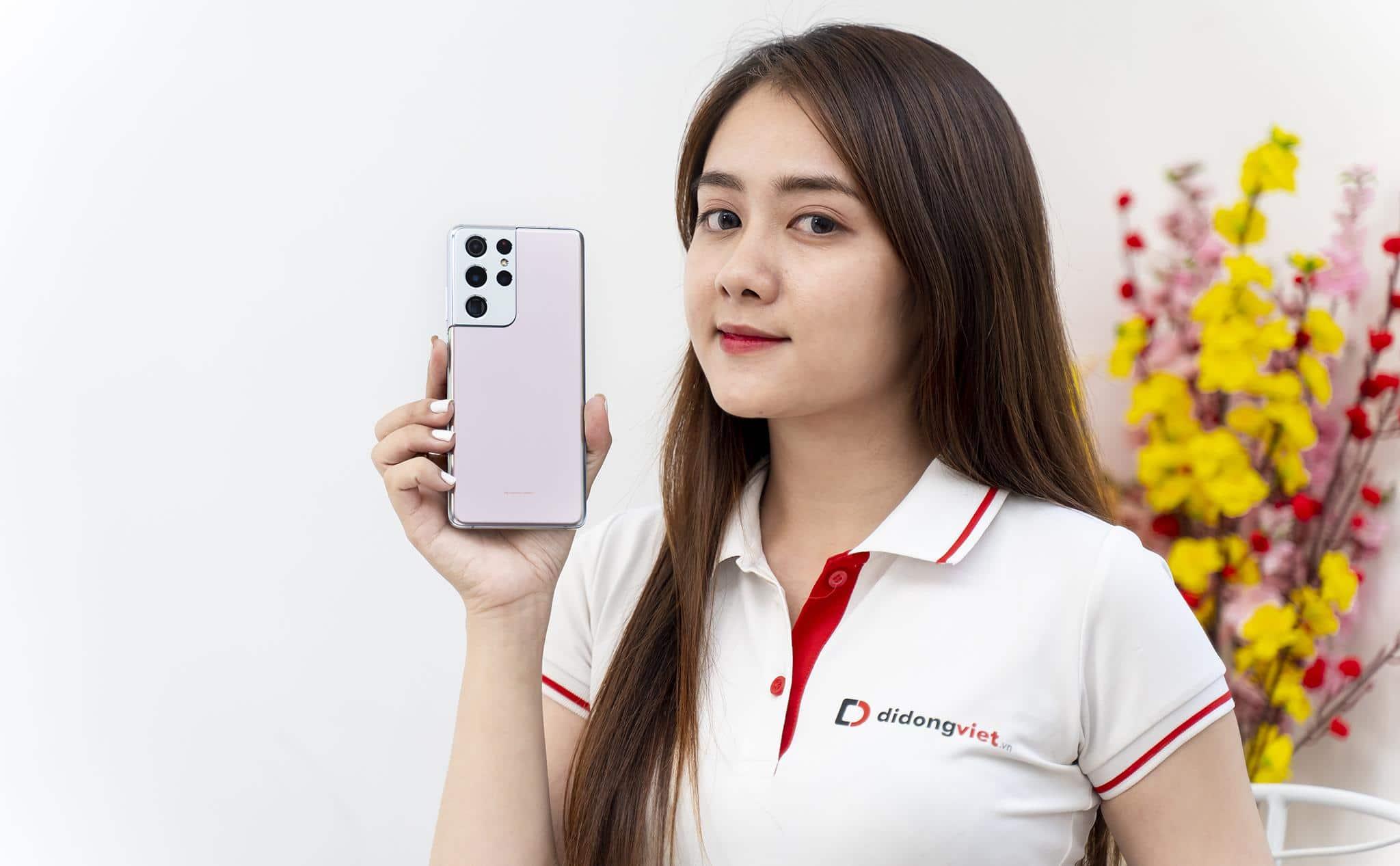 Flagship Samsung S21 Ultra 5G giá 22.99 triệu có đáng sở hữu vào dịp Tết?