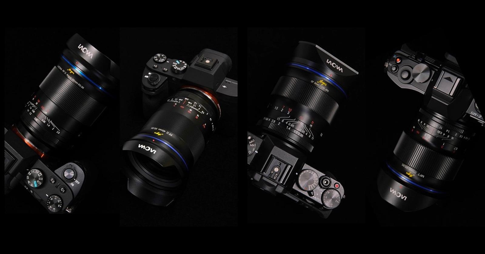 Laowa ra mắt loạt ống kính lấy nét tay mới cho full frame và APS-C