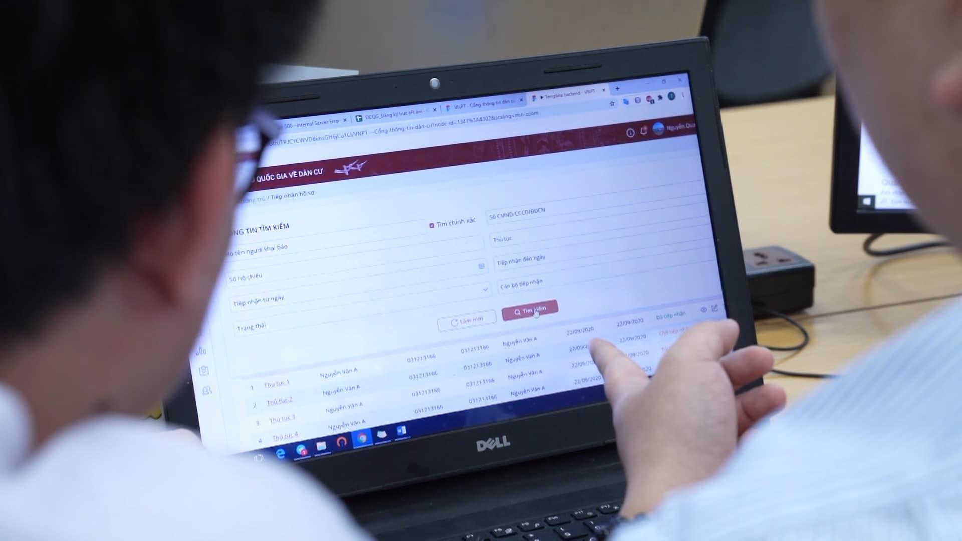 Hệ thống cơ sở dữ liệu quốc gia về dân cư là hệ thống nền tảng giúp thay đổi phương thức quản lý công dân