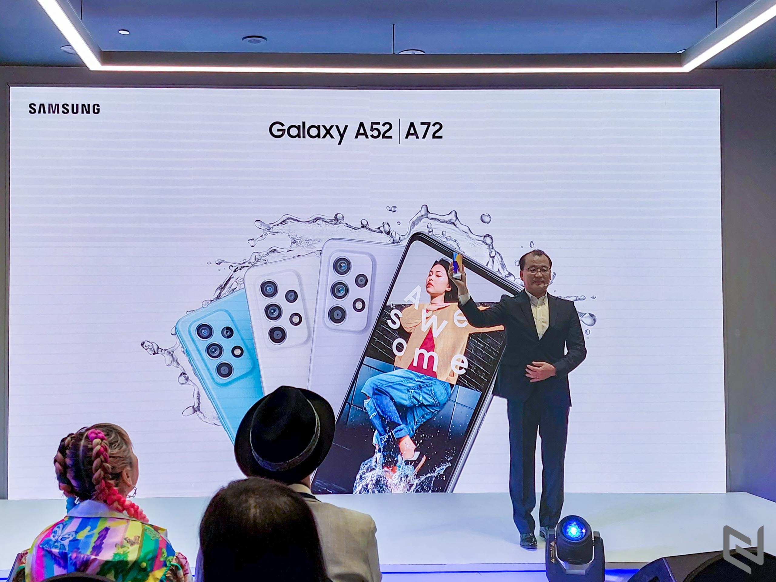 Sự kiện ra mắt Samsung Galaxy A52 và Galaxy A72 tại Việt Nam