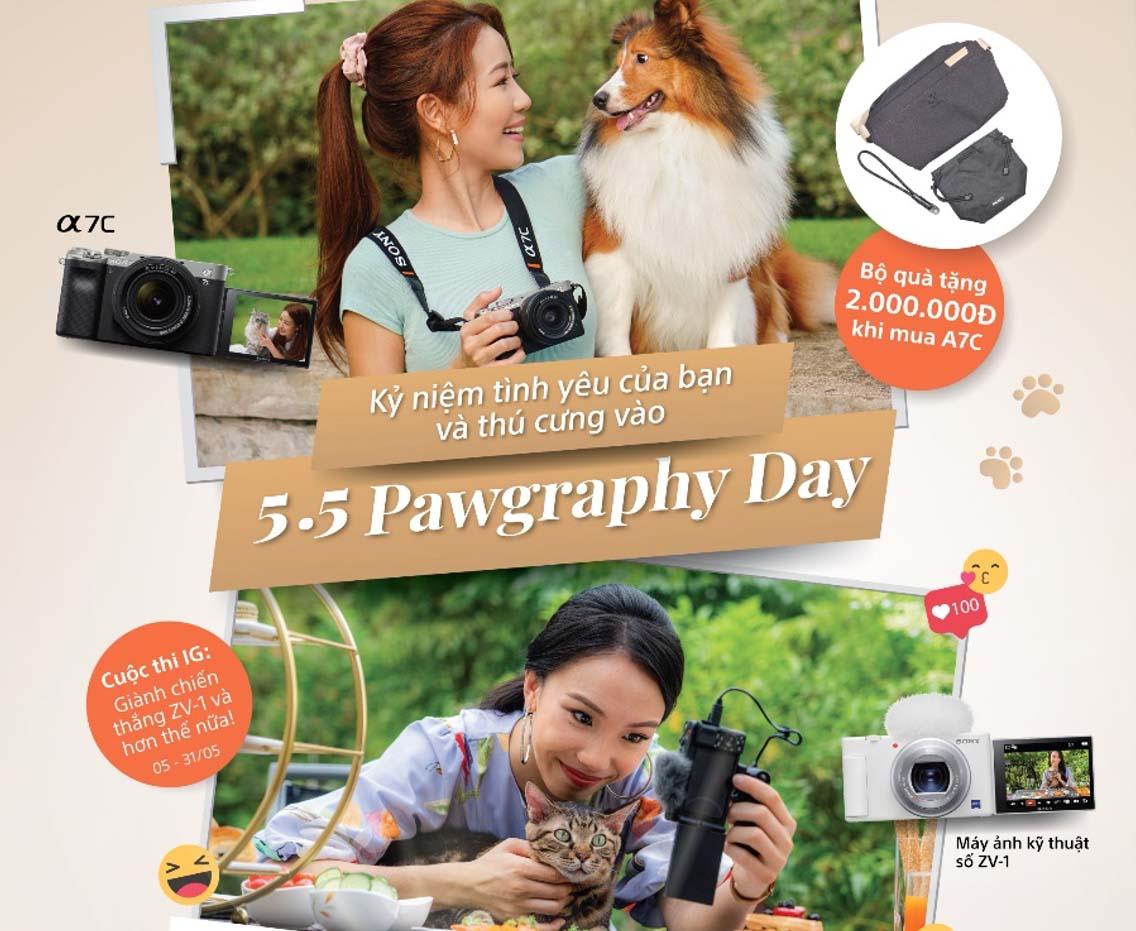 Tưng bừng Pawgraphy 5.5: Ngày hội nhiếp ảnh và quay phim thú cưng