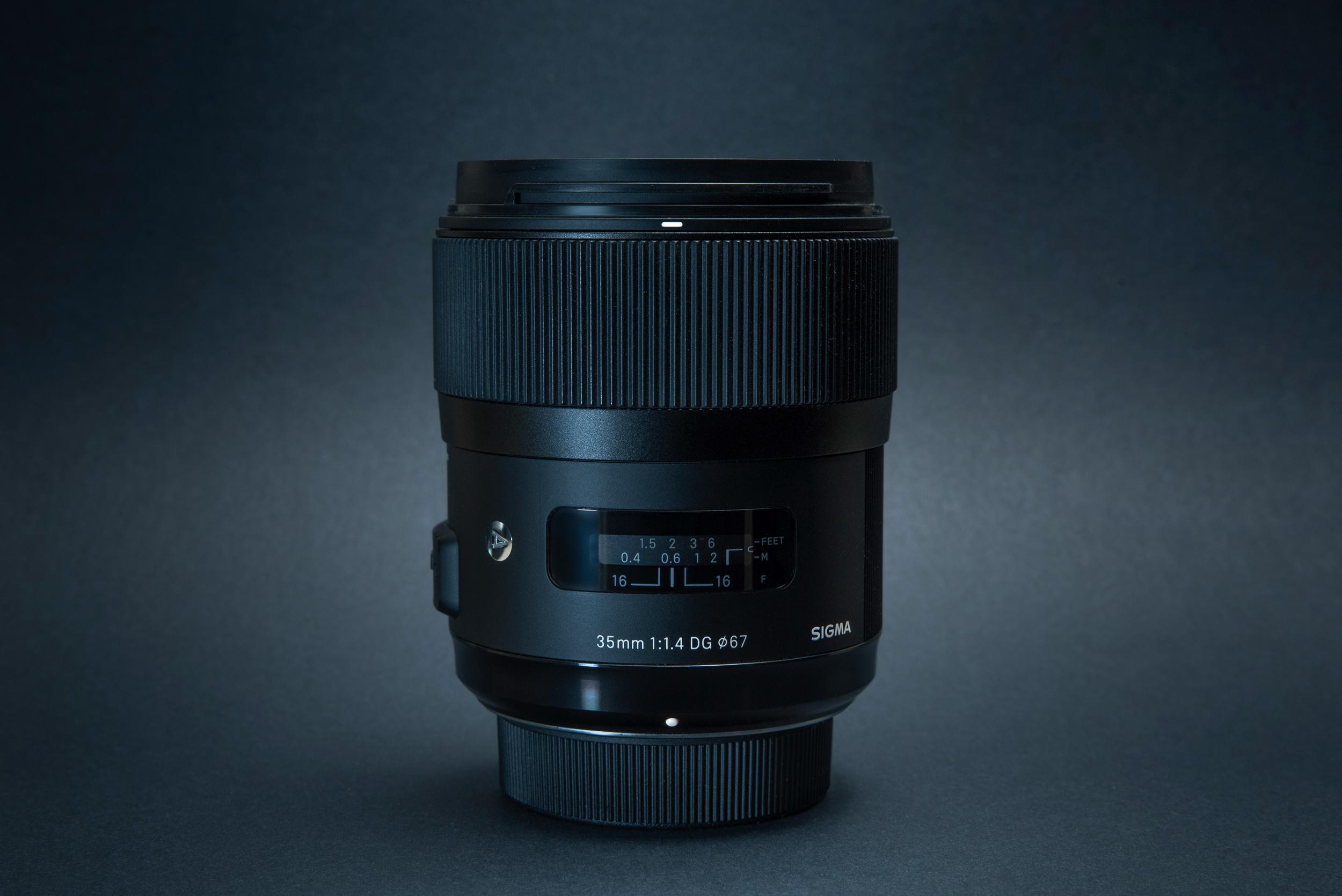 Xác nhận ống kính Sigma 35mm F1.4 DG DN Art mới cho Sony ngàm E và L