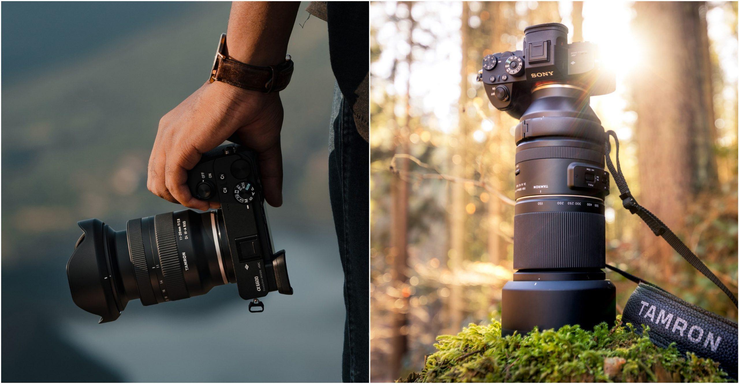 Tamron ra mắt ống kính 11-20mm F2.8 cho APS-C, ống kính 150-500mm F5-6.7 cho full frame