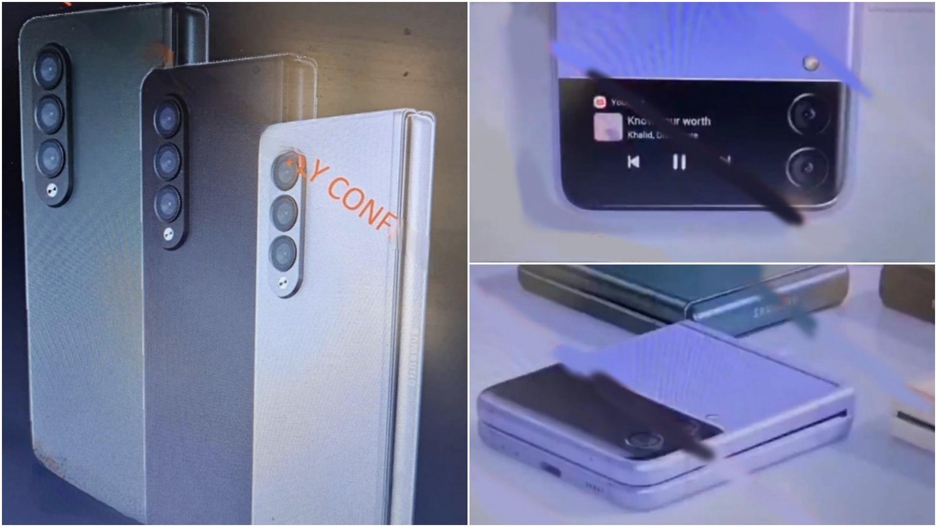 Lộ diện ảnh quảng cáo của bộ đôi Galaxy Z Fold 3 và Z Flip 3