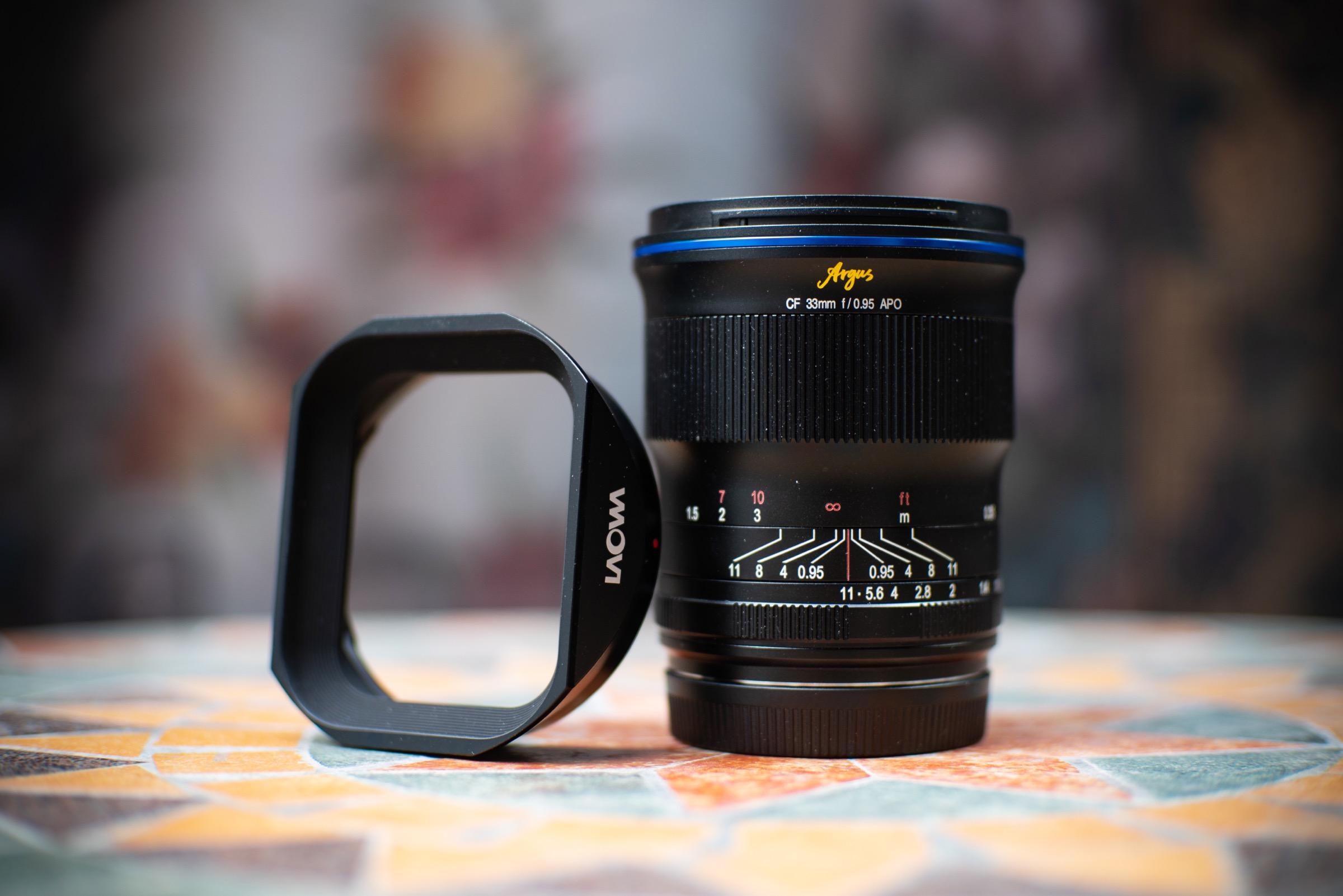 Venus Optics ra mắt ống kính khẩu độ siêu nhỏ Laowa 'Argus' 33mm F0.95 CF APO dành cho máy ảnh APS-C