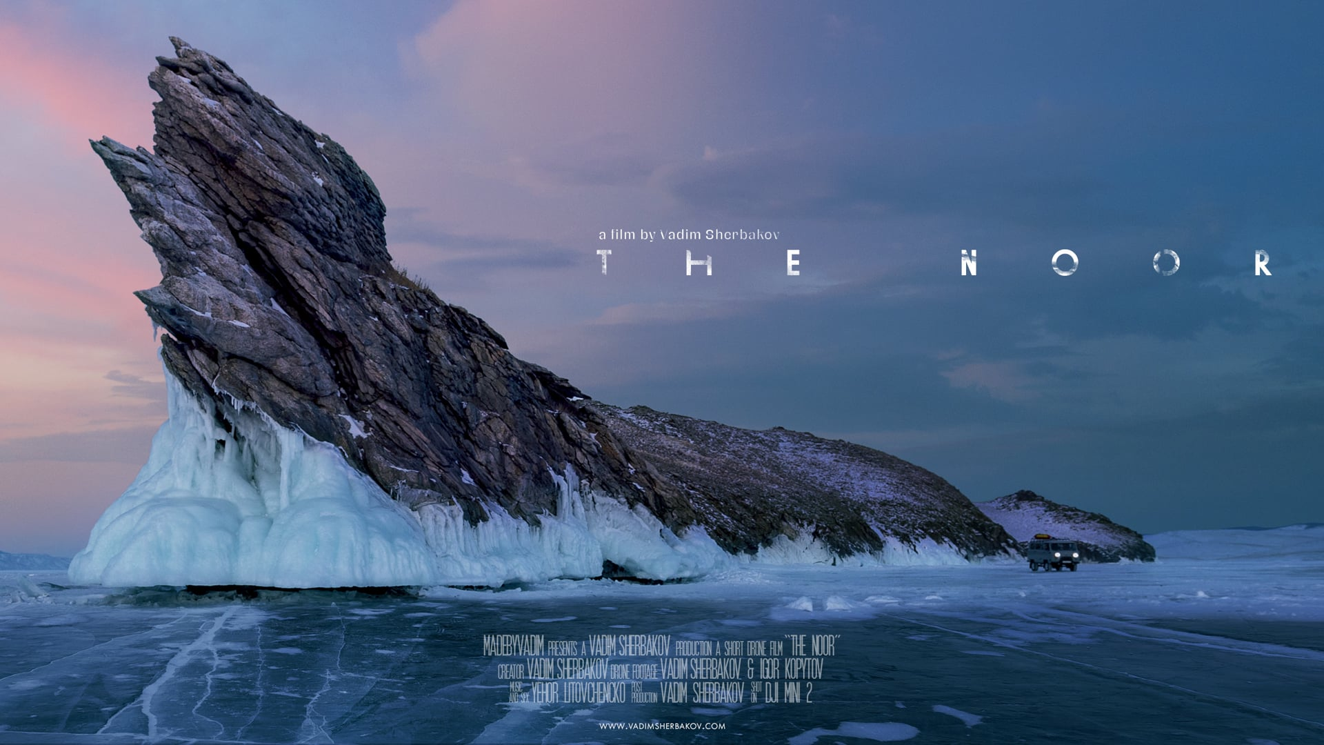 """Cùng xem thước phim trên không """"The Noor"""" được quay bằng DJI Mini 2 ở nhiệt độ -18°C"""